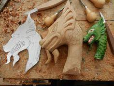 image result for free wood patterns for carving walking sticks