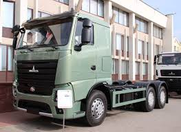 100 Maz Truck MAZ Presents A 5th Generation 3axle Chassis 6312M7