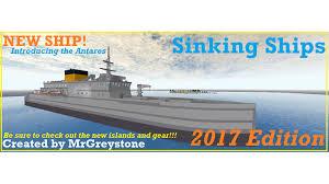 Ship Sinking Simulator Play Free by Sinking Ships Roblox
