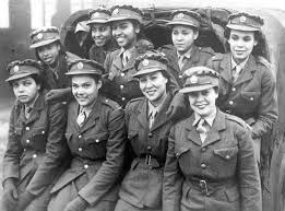 Jamaican West Indian Women Recruits For The Auxiliary Territorial Service In 1943 Womens Branch Of Army UK
