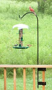 Wooden Bird Feeders Plan Squirrel Stopper Bird Feeder Pole Bird