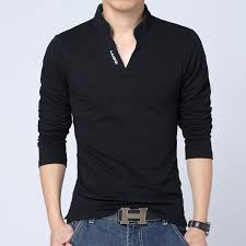 Free Shipping 2018 New Mens T Shirt Man Camisetas Fashion Spring Slim Long Sleeved Casual Men Clothing MT309 In Shirts From