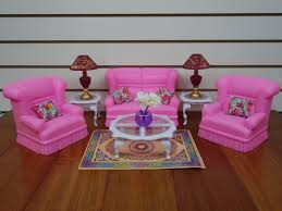 gloria barbie doll house furniture 9704 my fancy life living