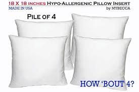 Best Pillow Forms