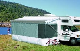 Home Exterior And Interior Fancy Rv Awning Add A Room For