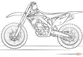 1186x824 Kawasaki Motocross Bike Coloring Page Free Printable Pages