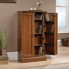 Sauder L Shaped Desk With Hutch by Furniture Wonderful Wooden Book Case With Door By Sauder