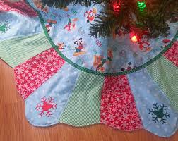 Nightmare Before Christmas Tree Skirt by Nightmare Before Christmas Jack Skellington Patchwork Tree