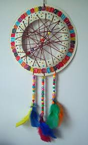 Craft And Activities For All Ages Paper Plate Dream Catcher Tutorial