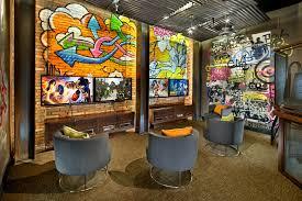 Video Gamer Room Inspired By Street Art