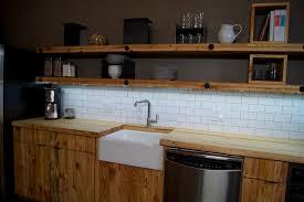 led light kitchen shelves contemporary kitchen