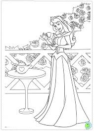 Adult Coloring Page Disney PagesColoring Book SheetsSleeping BeautyPrincess AuroraRelaxation