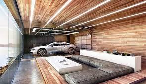 luxus häuser mit einem luxus auto im luxus wohnzimmer mit
