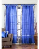 Blue Sheer Curtains 96 by Surprise Deals For 96 Inch Sheer Curtains