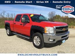 100 Chevy Truck Accessories 2014 Certified Red Chevrolet Silverado 2500HD Stk 18C542A Ewald