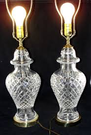 Waterford Lamp Shades Table Lamps by 29 Vintage Waterford Crystal Table Lamps Vintage Waterford