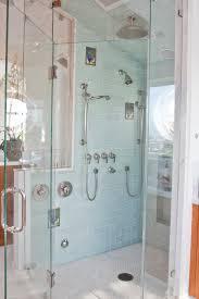sea glass tile bathroom traditional with custom tiles frameless