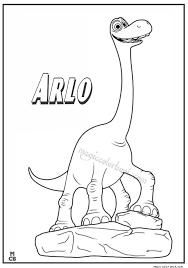 Good Dinosaur Coloring Pages Arlo 01