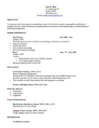 Cv Template Free Professional Resume Templates Word Open Colleges Rh Opencolleges Edu Au For