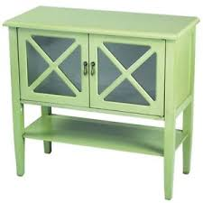 Image Is Loading Sideboard Storage Cabinet Buffet Dining Green Living Room