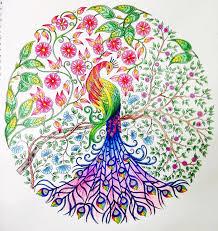 Secret Garden Coloring Book Free 12 Colors Pencil Magic
