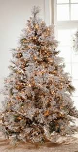 220 Best Decorated Christmastrees Images On Pinterest 8 Ft Flocked Christmas Tree
