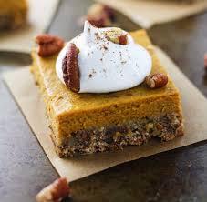 Desserts With Pumpkin Pie Filling by Skinny Pecan Pumpkin Pie Bars It U0027s Cheat Day Everyday
