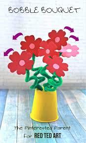 Easy Flower Bouquet Craft