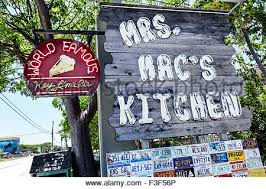 Florida Keys Key Largo Mrs Mac s Kitchen restaurant neon sign Key