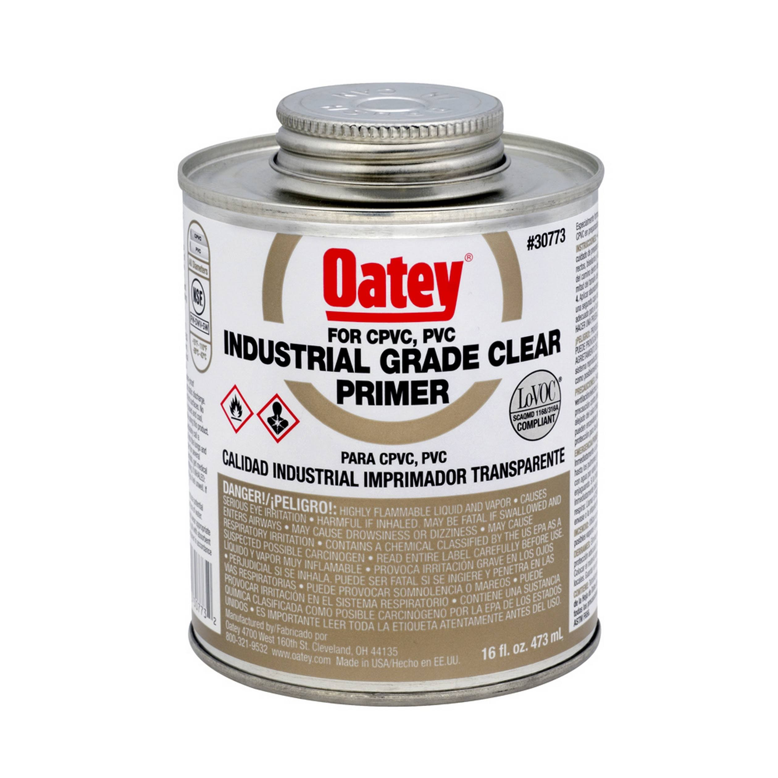 Oatey PVC Clear Cleaner - 473ml