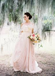 15 Sweet Peach Blush Wedding Dresses