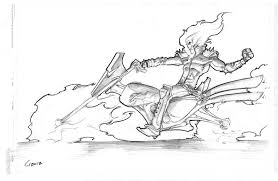 Printable Ghost Rider Coloring Pages Free Prin 25696 With