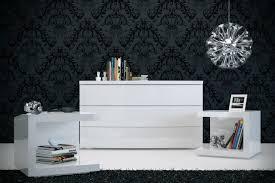 Modloft Ludlow Bed by Ludlow Modern Dresser Modloft