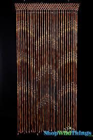 Natural Bamboo Beaded Door Curtain by Door Beads U0026 I U0027m Sooo Making This Macrame Curtain