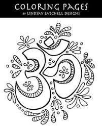 Find This Pin And More On Yoga Is Good For You OM Adult Coloring
