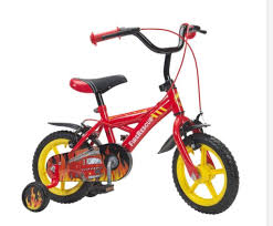 """Kids 12"""" Fire Truck Bike 