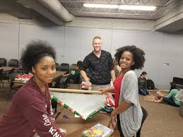 Students Shopped For Items Brought Them Back To School And Wrapped The Gifts Summer Lile Who Graduated From WMC In 2012 Is Now A Science Teacher