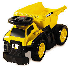 Amazon.com: Mega Bloks Cat 3 - In - 1 Ride - On Dump Truck: Toys & Games