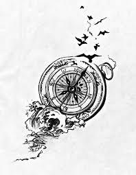 Best 25 Compass Tattoo Ideas On Pinterest