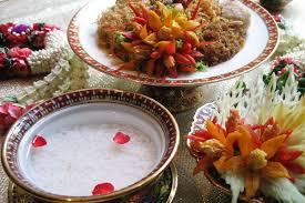 cha e cuisine foods for songkran festival in khao chae