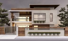 100 Modern Houses Architectural Previsualization Renders Exterior Facade