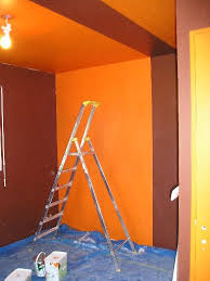 chambre orange et marron emejing peinture chambre orange et marron gallery amazing house