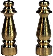 amazon com creative hobbies ely505 solid brass finial for l