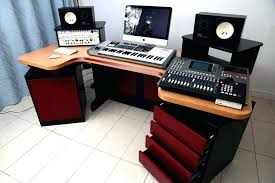 Music Studio Desk Rding Mesmerizing Elliptic Design Ideas With Four Lovely Best For Home