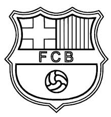 Barcelona Logo Soccer Coloring Pages