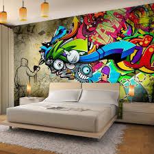 fototapeten graffiti streetart 352 x 250 cm vlies wand