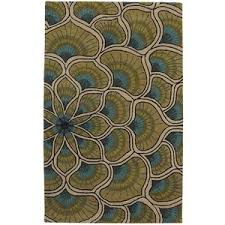 Pier 1 Imports Peacock Plume 5x8 Rug Polyvore