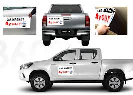 Car Magnets | 4YOURAD Custom Car Magnet Full Color Sign Set Of 2 18x12 White 30mil Vehicle Magnets Signsvilleca Oakville Burlington Milton Truck Shaped Advertising Shubee Graphics Your Partner In Dallasfort Worth Signs Calgary Door Van Magnetic Heavy Duty Safetyawardsourcecom All Junk Away Uses Esignscom For Their Truck Magnets I Saw The 12x24 Signcraft Huntsville Parry Sound North Bay Gallery Drive Your Brand Fast Shipping Printed Overnight