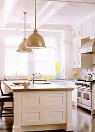 big dome gold pendant lights white kitchen island with