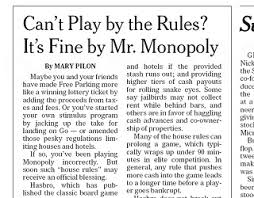 Many Of Us Have Come Up With A Few Our Own Rules For The Classic Board Game Monopoly Now Hasbro Is Asking Players To Submit Their Favorite House